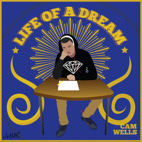 CAM_Wells_Life_Of_A_Dream-front-large